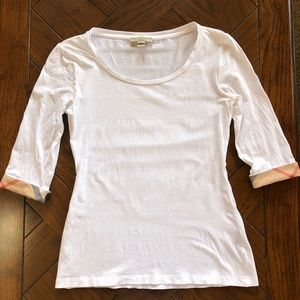 Burberry Tops - Burberry shirt 3/4 sleeves